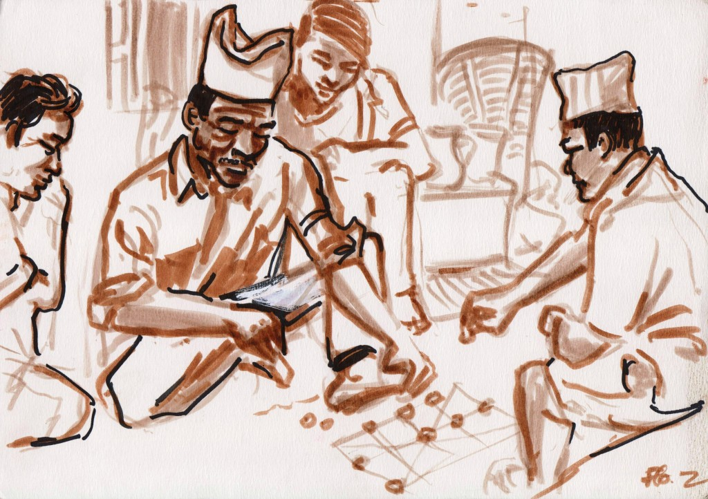 Budiman & le jeu du bagh chall