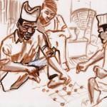 Budhiman & le jeu du bagh chall