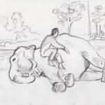 Vendu - Manucure éléphantesque_Chitwan
